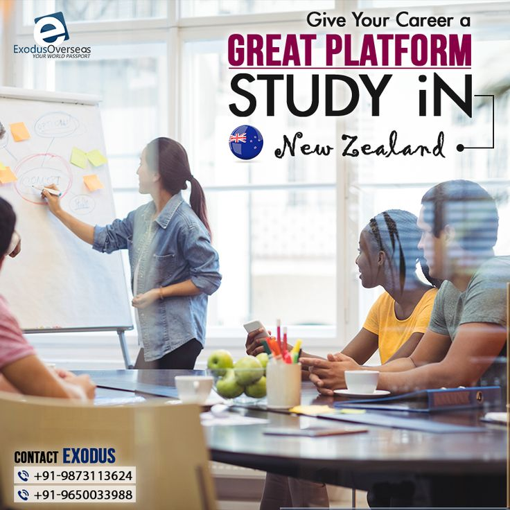 Give your career a new edge and dimension by choosing New Zealand your study destination. Contact Mr. Pankaj Malhotra (Ex-Visa Officer) Ph : +91-9650033988. For any visa other than Student contact Ms. Rajni Garg (Licensed immigration advisor) at +91-9873113624. #ExodusOverseas #Licensed #Visa #Officer #Immigration #Advisor #Consultation #StudyAbroad #NewZealand