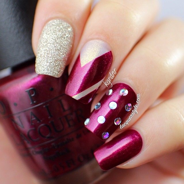 Nail Colors Burgundy: 141 Best NAILS...WINE / BURGUNDY / PLUM Images On