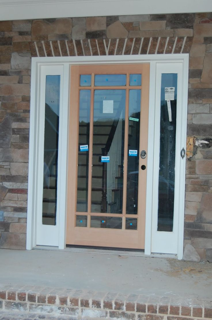 Best 25 glass entry doors ideas on pinterest doors with for Exterior door and frame