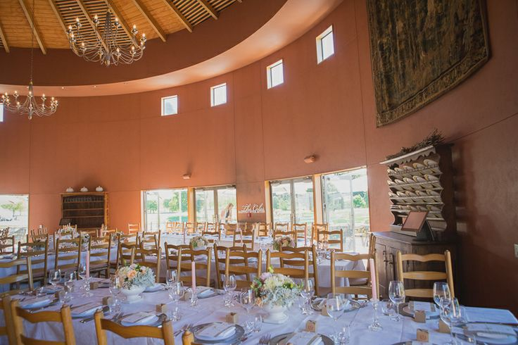 Inside reception venue.