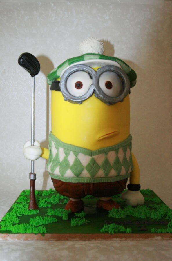 108 best minions images on Pinterest Petit fours Cake minion and