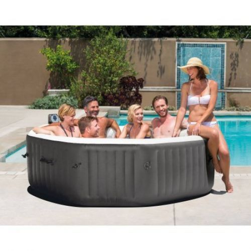 25 best ideas about jacuzzi ext rieur gonflable on pinterest jacuzzi gonfl - Jacuzzi gonflable 6 personnes ...