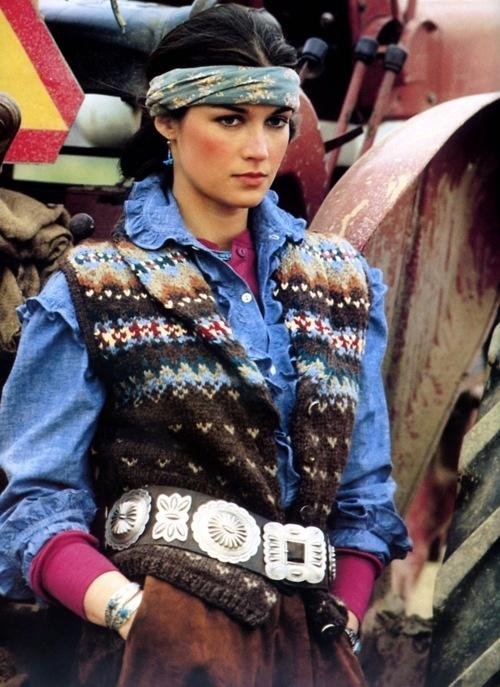Clotilde - Ralph Lauren ad ... early 80s