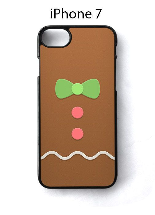 Festive Gingerbread Print Pattern iPhone 7 Case Cover - Cases, Covers & Skins