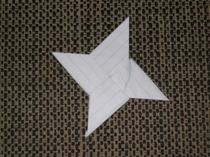 How to make chinese throwing stars
