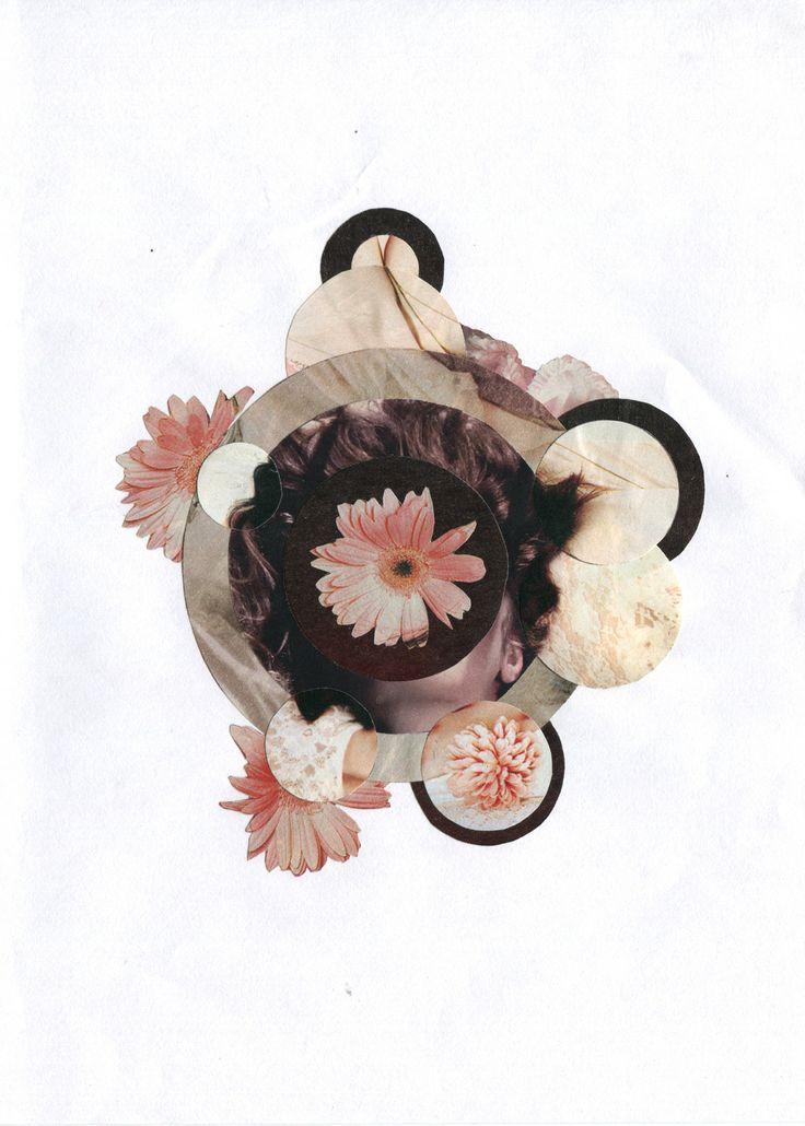 Vincent Drummond: Swell & Burst, 2012  #flowers #collage #contemporaryart