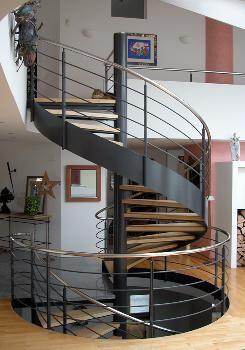 escalera caracol con cinta  Nº21