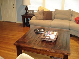 Coffee Table with matching End Tables Tutorial