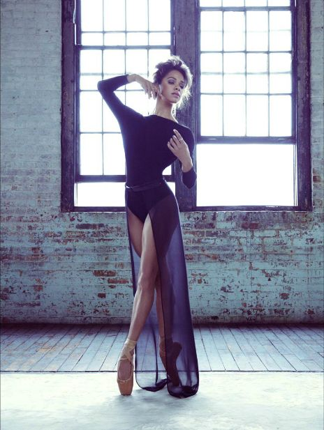 misty copeland from ABT -vogue shoot