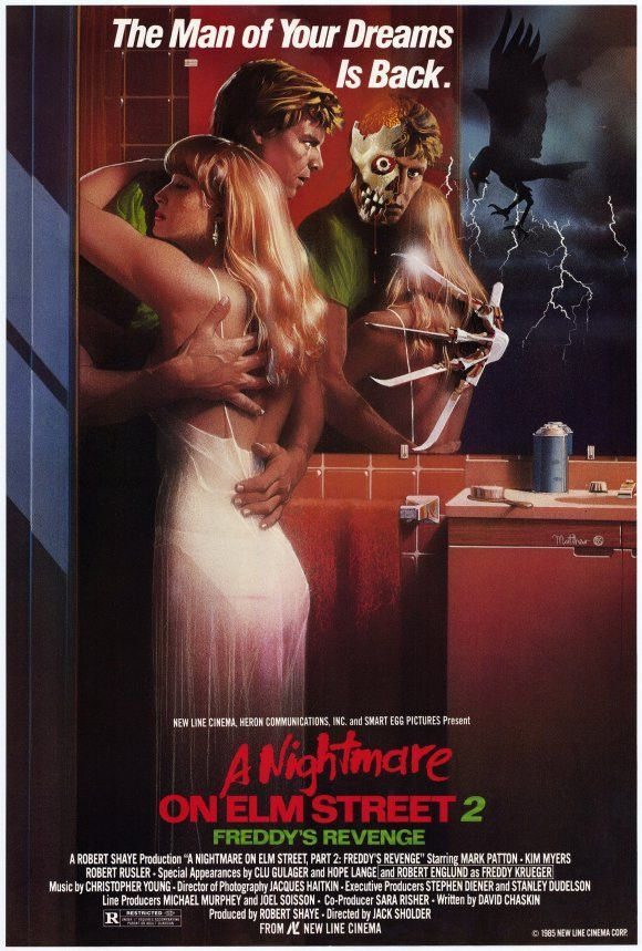 Nightmare on Elm Street 2: Freddy's Revenge 27x40 Movie Poster (1985)