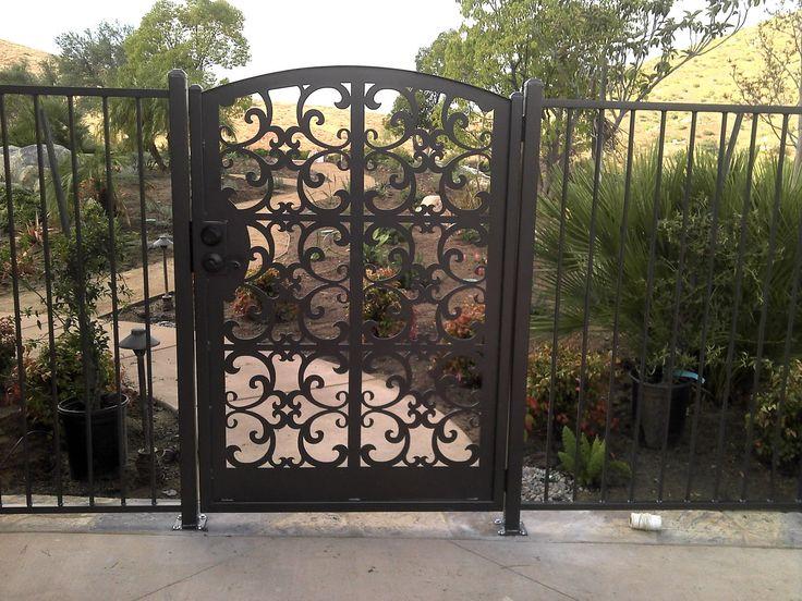 Les 287 meilleures images du tableau gates sur pinterest for Portes de jardin en metal