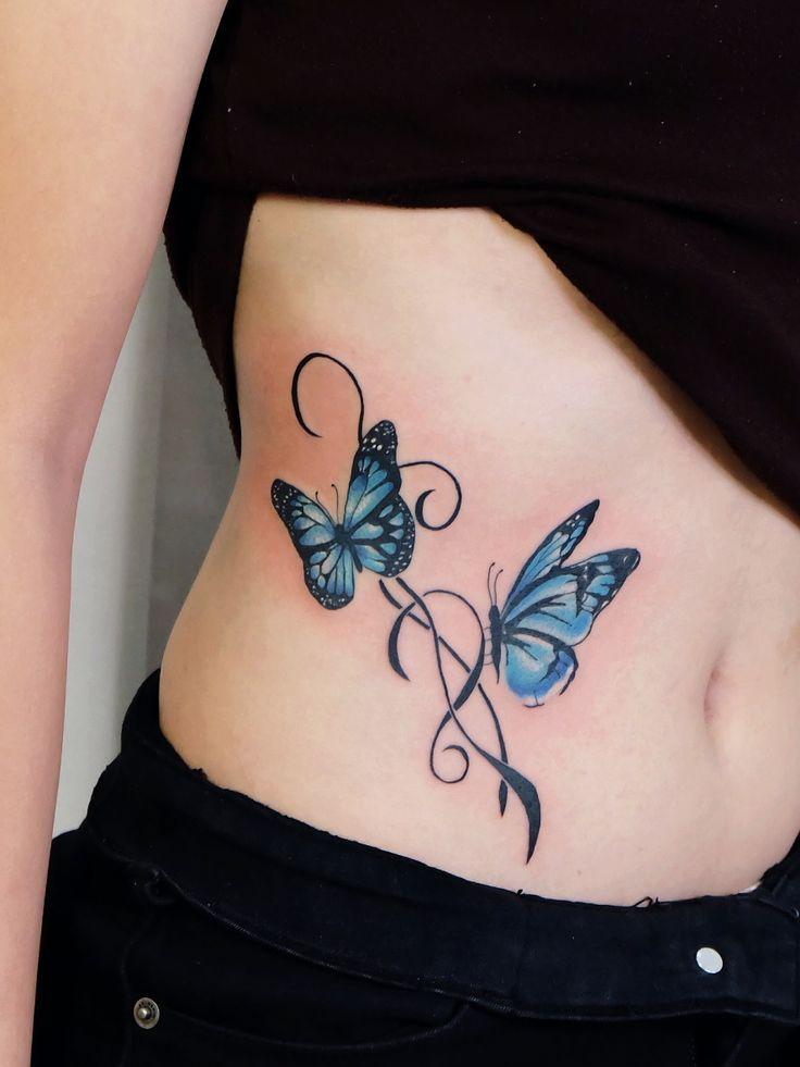 Butterfly Tattoo รอยส กผ เส อ รอยส กสวย ๆ รอยส กผ เส อ รอยส กผ หญ ง