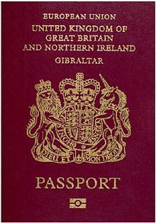 British Passport - in the UK, British passports are issued by the HM passport office. In conjunction with  the post office, it is possible to submit most applications at a number of branches. Since all passports are issued in the name of the queen, the queen herself IS exempt from having passport to travel.