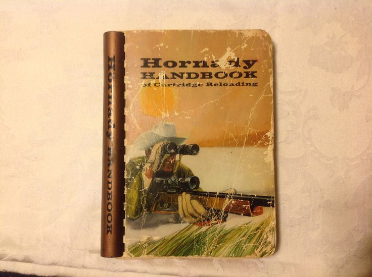 Hornady reloading manual #1 first edition