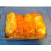 Gallina Blanca - Receta de Lomos de merluza rápida con tomate para tupper - Gallina Blanca