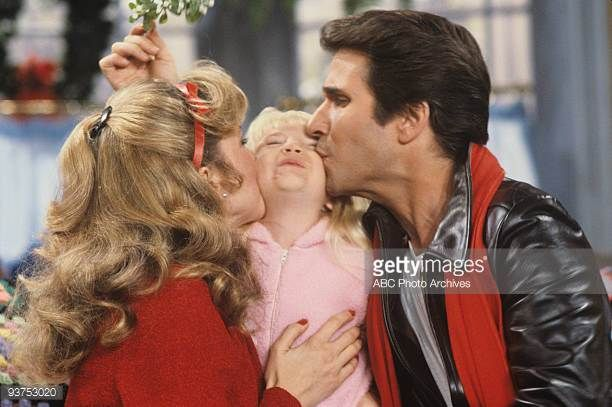 Heather O'Rourke with Henry Winkler and Linda Purl