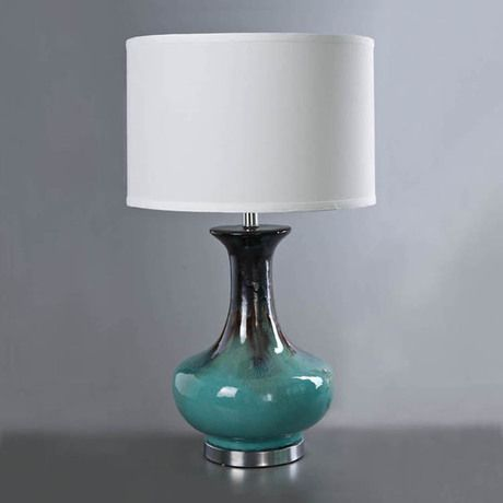 Бирюзовая настольная лампа керамика http://loft-concept.ru/catalog/table-lamp/