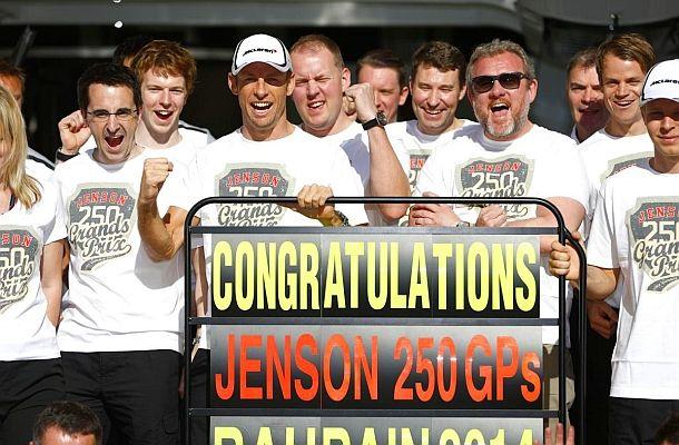 10 nejlepších jízd pilota McLarenu Jensona Buttona.
