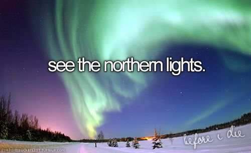 Miss seeing this breath taking show dancing in the cold, northern sky.