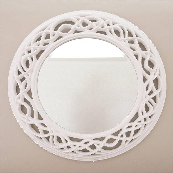 36 Inch Round Mirror Part - 29: Twisted Round Mirror By Decorative Mirrors Online | Notonthehighstreet.com