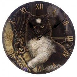 Orologio da parete muro gatto micio Times up cat fantasy