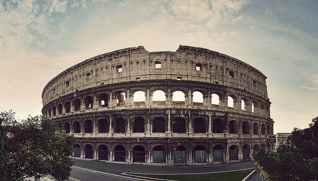 The Colloseum: Italy Check, Dreams Places, Rome Italy, Colloseum Rome, Visit, Amazing Places