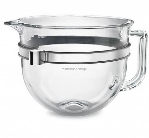 Kitchenaid 6 quart glass bowl kit for bowl lift stand mixers dzie a szklana - Kitchenaid glass bowl attachment ...