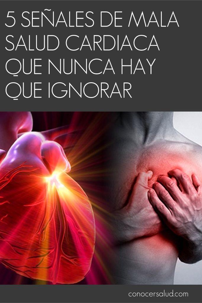 5 señales de mala salud cardiaca que nunca hay que ignorar #salud