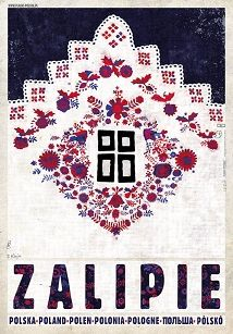 Ryszard Kaja - Zalipie, Viallage of Flowers, Polish Promotion Poster