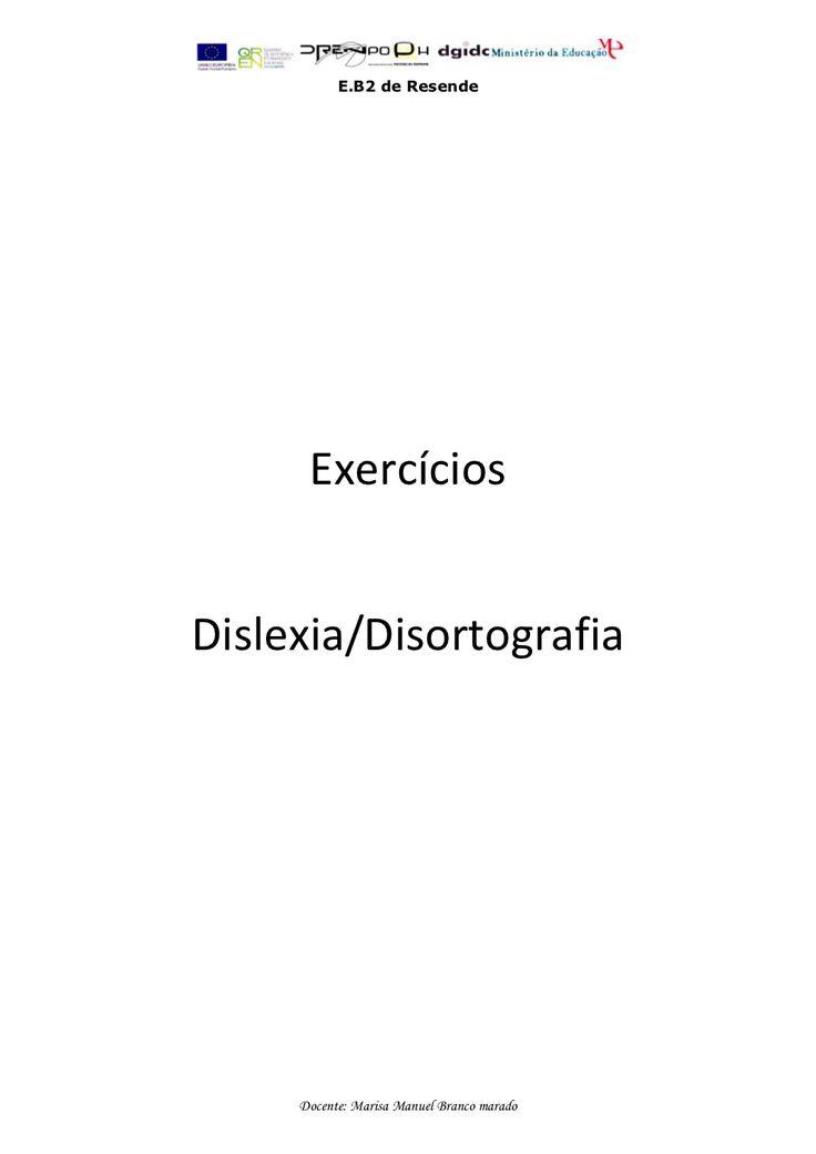 exerccios-dislexia-disortografia by Fmbmrd via Slideshare