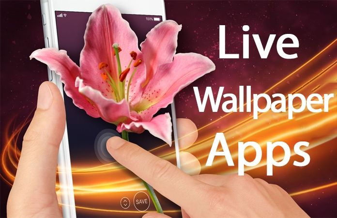 5 Best Live Wallpaper Apps For Iphone X 8 7 6 6s Live Wallpapers Wallpaper App Free Live Wallpapers