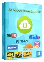 4K Video Downloader 4.4.4.2275  4K Video Downloader allows to download and save video audio and subtitles from Internet in high quality. Download all videos from Internet with one click. Save video in MP4 MKV 3GP formats or extract audio videos in MP3 M4A or OGG. Download 3D video content enjoy it even when you are offline. Download 4K Video Downloader Offline Installer Setup for Windows.  This program is free open source and cross-platform. No toolbars no adware no malware: our Installers…