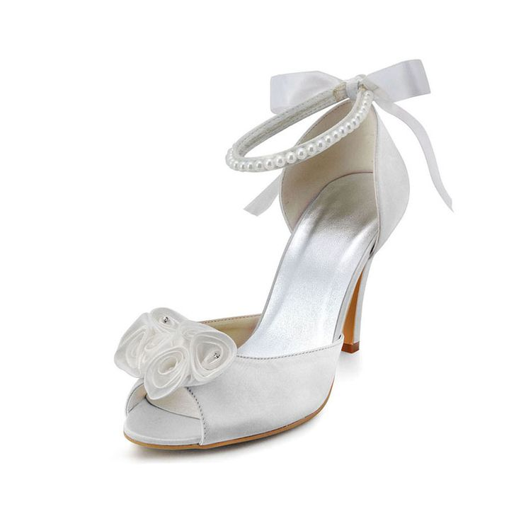 592 best Wedding Shoes images on Pinterest | Heels, High heel and High heels