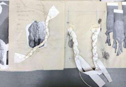 Best fashion design student sketch books ideas