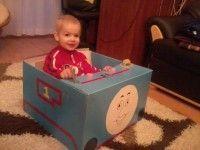 Thomas doboz autó