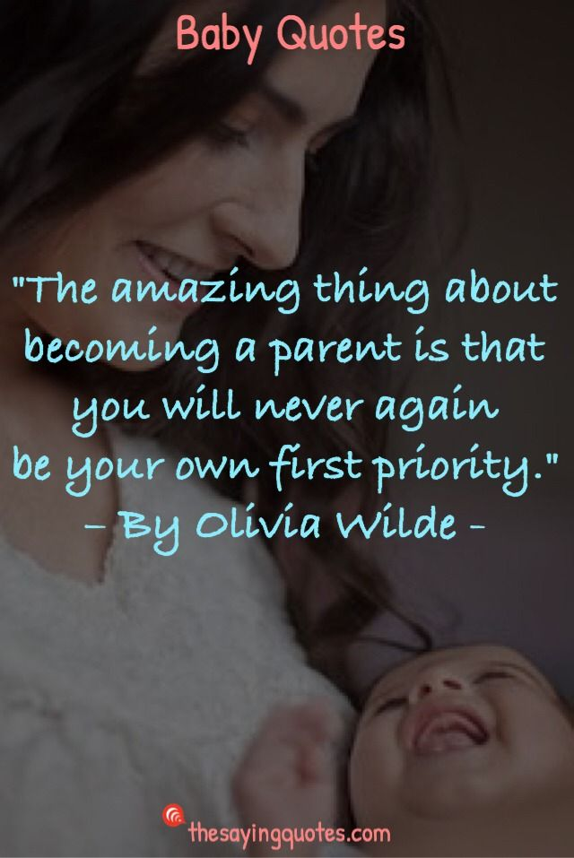 Parents Baby Quotes