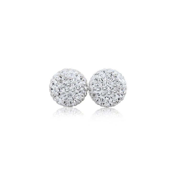Sparkle Ball Stud Earrings