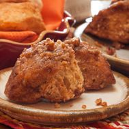 Sweet Potato Biscuit Sticky Buns