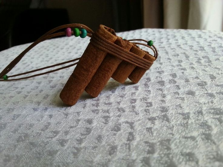 Cinnamon jewerly  pan flute  30$