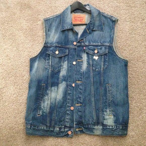 Jean Jacket No Sleeves - JacketIn