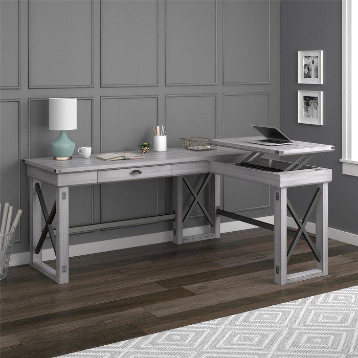 Gladstone L Shape Desk L Shaped Desk White L Shaped Desk Furniture