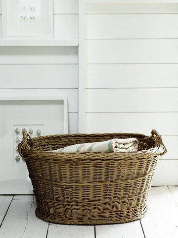 Antique Style Chunky Basket good for laundry