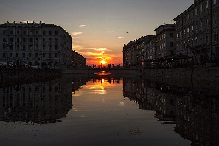 The Grand Canal (Trieste - Italy)