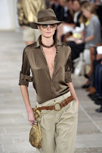 ralph lauren. raiders of the lost ark inspired?