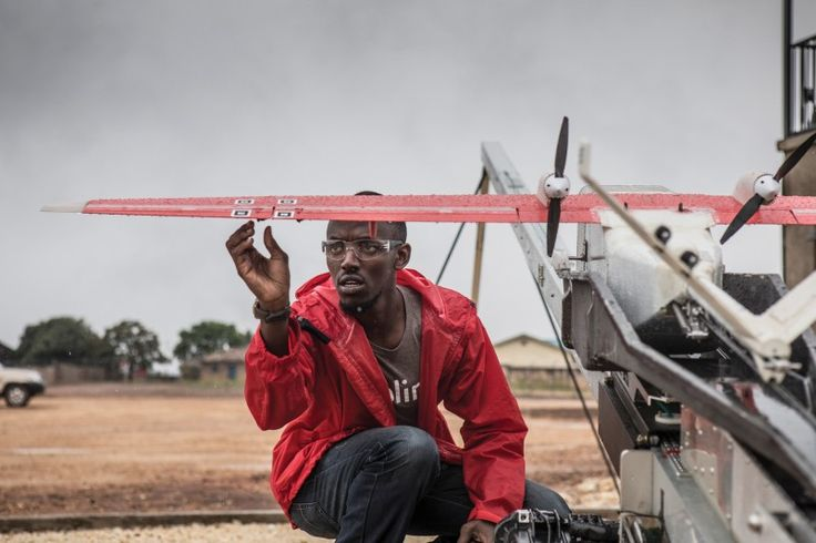 In Rwanda, an early commercial test of unmanned aerial vehicles cuts a medical facility's time to procure blood from four hours to 15 minutes.