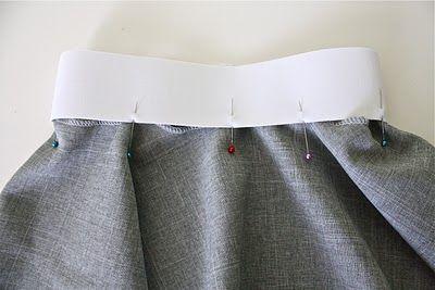 How to sew elastic onto fabrics
