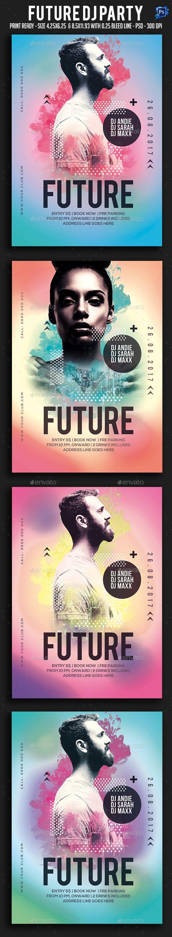 Future Dj Party Flyer