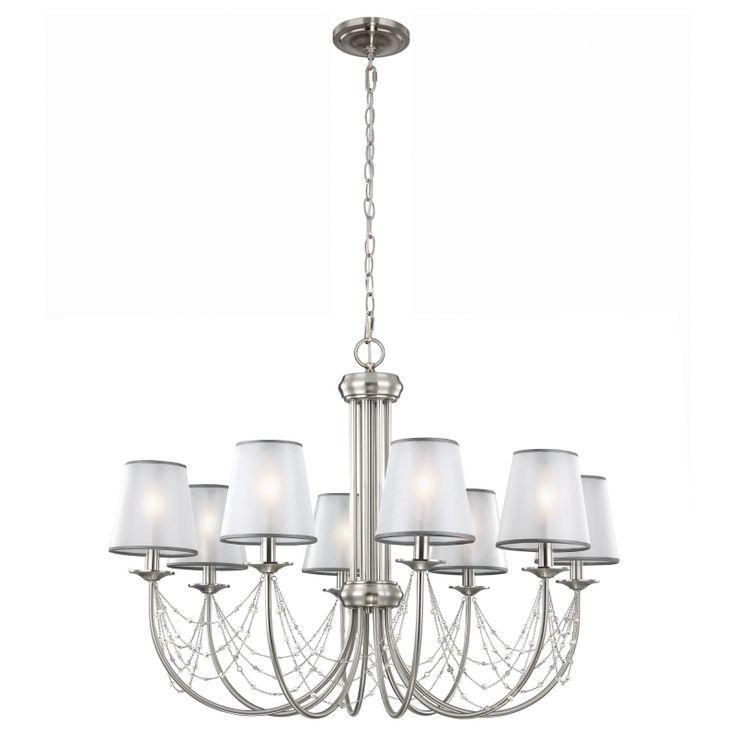 Aveline Eight Light Chandelier - Elstead Lighting - Netlighting Ltd