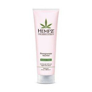 Hempz Pomegranate Herbal Body Wash 9oz by Hempz. $11.41. 100% Genuine. Salon Professional hair care product. Hempz Pomegranate Herbal Body Wash is enriched with 100% Pure Organic Hemp Seed Oil and blended with ultra-mild cleansers to help restore smoothness, softness and hydration with every shower or bath.. Save 66%!