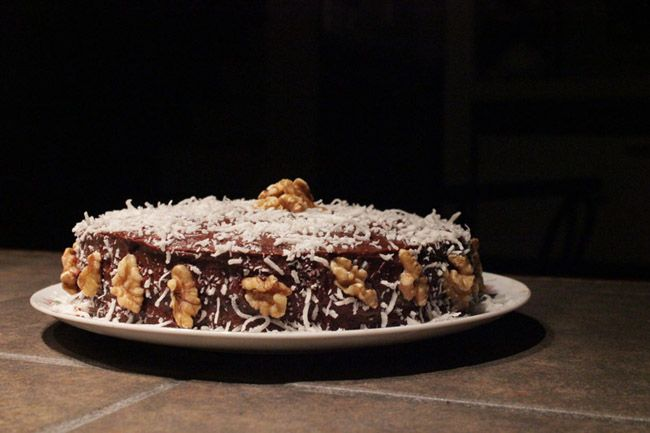 This Sugar Free German Chocolate Cake Recipe has a coconut flake topping that is not only delicious, but healthy for you.